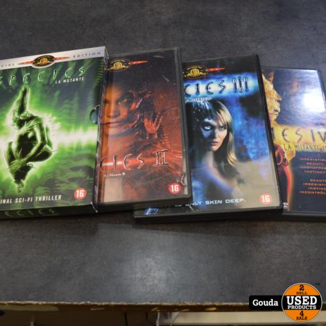 Dvd serie Species 1-4