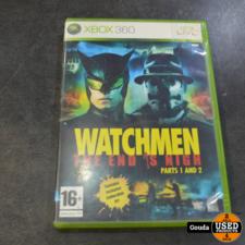 Xbox 360 game Watchmen part 1 en 2