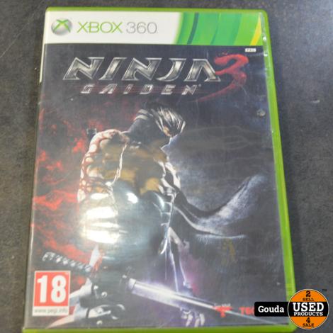 Xbox 360 game Ninja gaiden 3