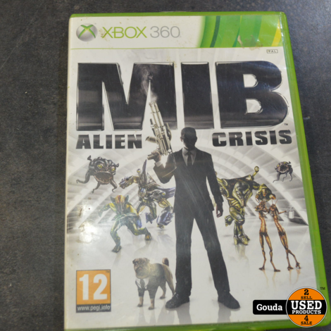 Xbox 360 MIB  Alien crisis