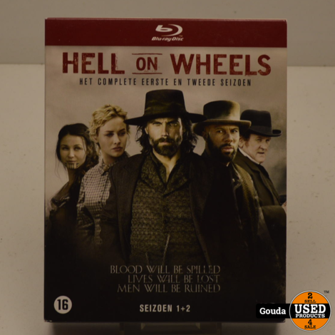 Hell on Wheels Seizoen 1 en 2 Blu-Ray
