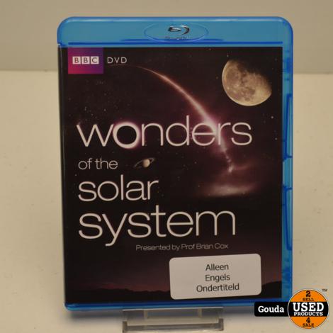 Blu Ray Wonders of the Solar System Z.G.A.N. Engels ondertiteld