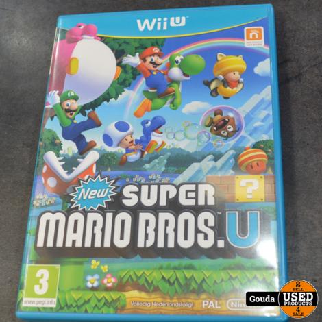 Wii U game Super mario bros U