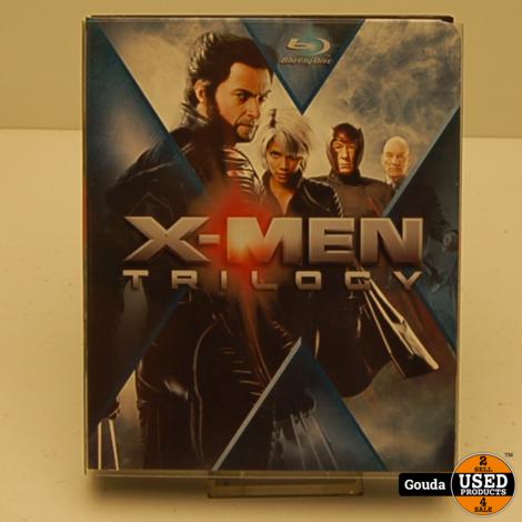 Blu Ray Disc Box X-MEN Trilogy NL ondertiteld