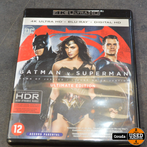 4K Ultra HD en Blu-ray disc  Batman v Superman