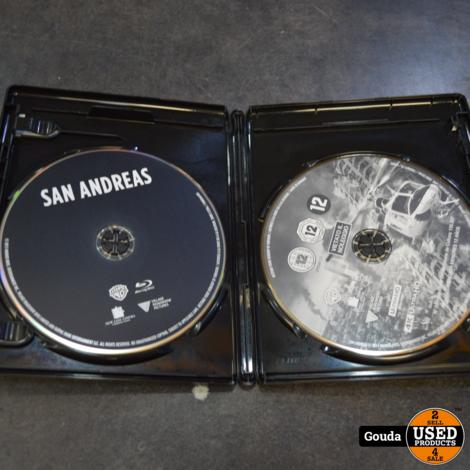 4K Ultra HD en Blu-ray disc San Andreas