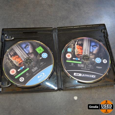 4K Ultra HD en Blu-ray disc Warcraft the Beginning