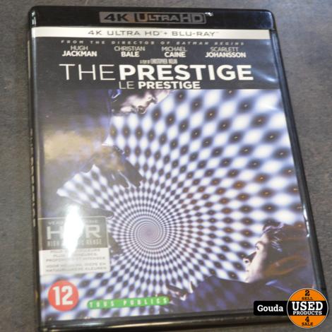 4K Ultra HD en Blu-ray disc The prestige