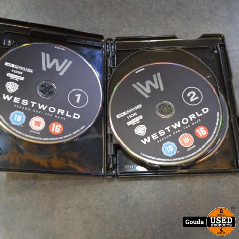 4K Ultra HD en Blu-ray disc Westworld Season One The Maze