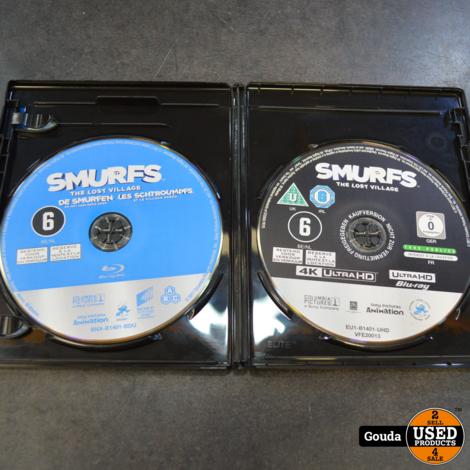 4K en Blu-ray De Smurfen en het verloren dorp