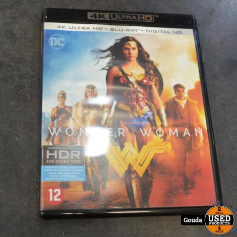 4K Ultra HD en Blu-ray disc Wonder Woman