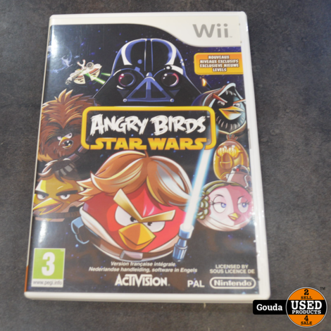 Wii game Angry birds Star Wars