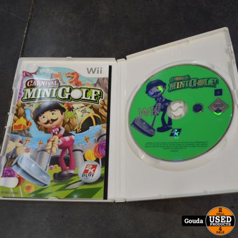 Wii game Carnival MiniGolf