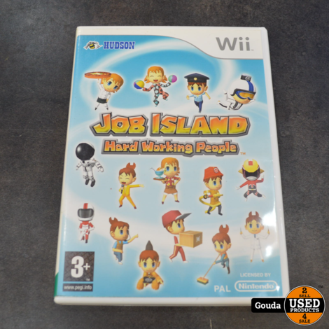 Wii game Job island