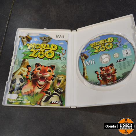 Wii game World of zoo