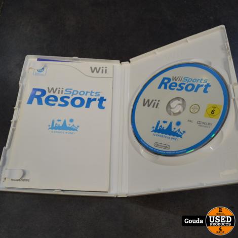 Wii game Wii sports resort