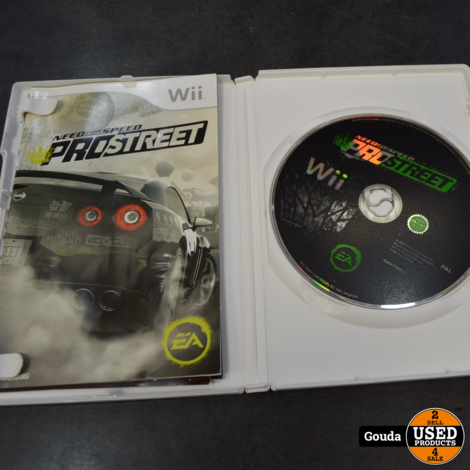 Wii game Need for speed pro street