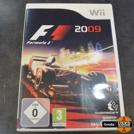 Wii game F1 2009
