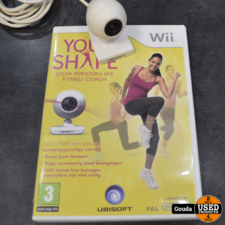 Wii game Your shape met camera