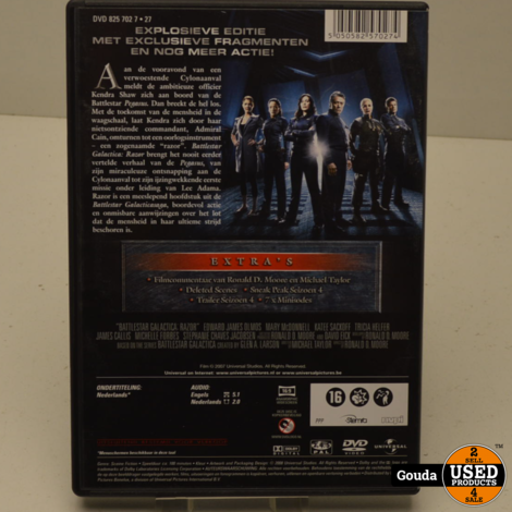 DVD Box Battlestar Galactica RAZOR NL ondertiteld