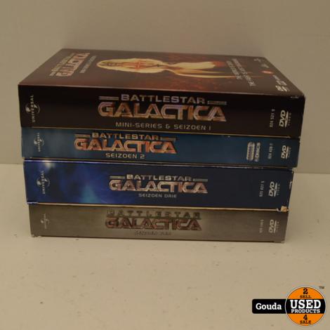 DVD Box Battlestar Galactica Seizoen 3  NL ondertiteld