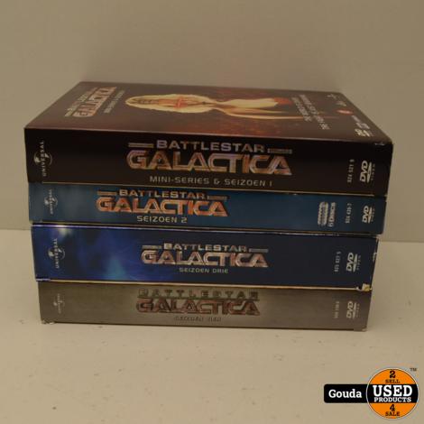 DVD Box Battlestar Galactica Seizoen 2 NL ondertiteld
