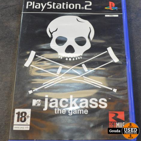 Playstation 2 game Jackass