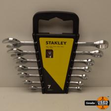 Stanley STMT8242-0 Steek/Ringsleutelset 7-delig NIEUW