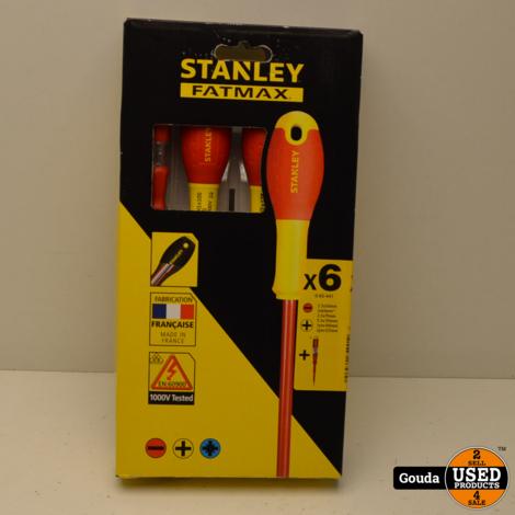 Stanley Fatmax 0-65-441 Schroevendraaierset 6 Delig NIEUW