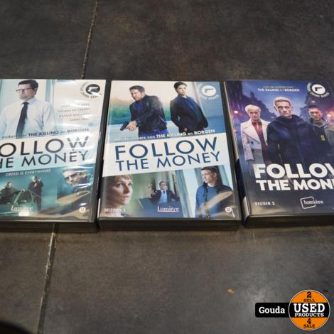 Dvd box Follow the money Seizoen 1+2+3