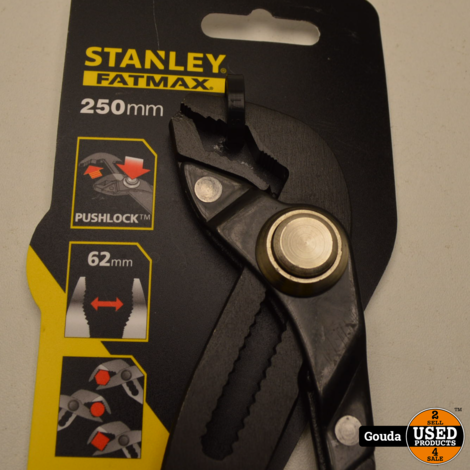Stanley Fatmax 0-84-648 Waterpomptang - 250 mm - Pushlock NIEUW artikel