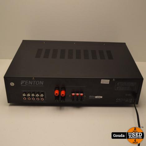 Fenton AV320BT 5-kanaals HiFi versterker met Bluetooth en USB en karaoke Z.G.A.N. in doos