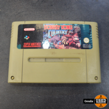 SNES game Donkey kong country