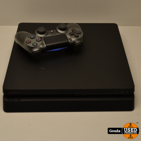Playstation 4 slim 1 TB met 1 controller en kabelset