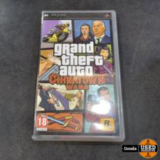 Psp game Grand theft auto Chinatown