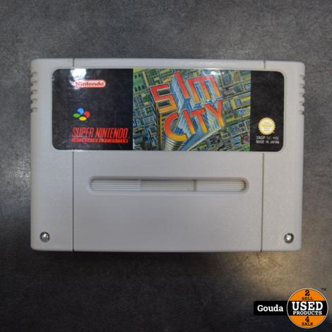 Nintendo SNES game Sim city