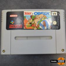 Nintendo SNES game Asterix & Obelix