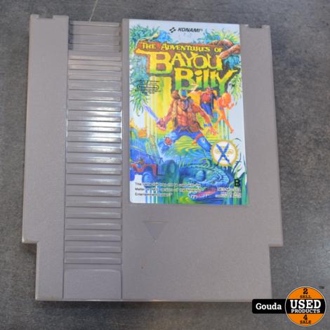 Nintendo NES game Bayou Billy