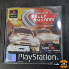 Playstation 1 game Rally masters