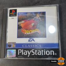 Playstation 1 game Hotwheels