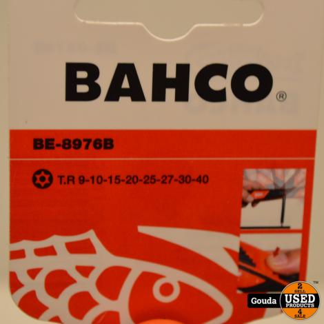 BAHCO BE-8976B Haakse Stiftsleutels, Gebruineerd voor Torx (8 stuks)  NIEUW artikel