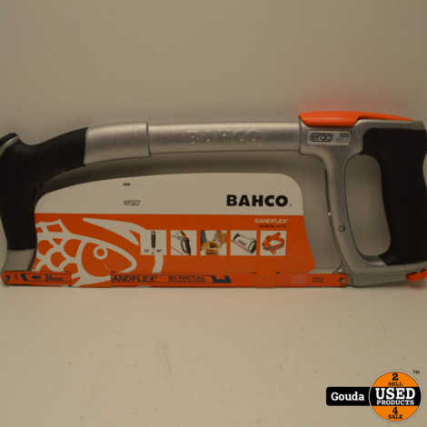 Bahco 325 IJzerzaagbeugel  300 mm met Sandflex Bi-Metal  24 TPI Zaagblad  NIEUW