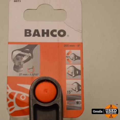 Bahco 8071 Verstelbare Moersleutel 205 mm  NIEUW Artikel