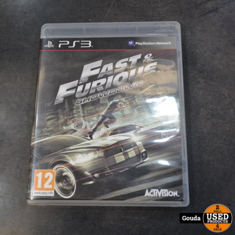 Playstation 3 game Fast en furious showdown