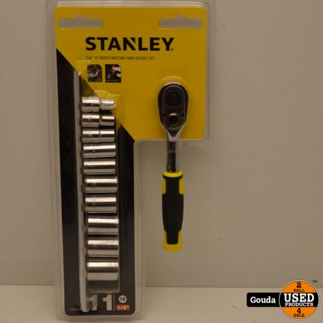 "Stanley STMT82666-0 Ratelset 1/4"" 72 Tanden 11 Delig NIEUW in seal"