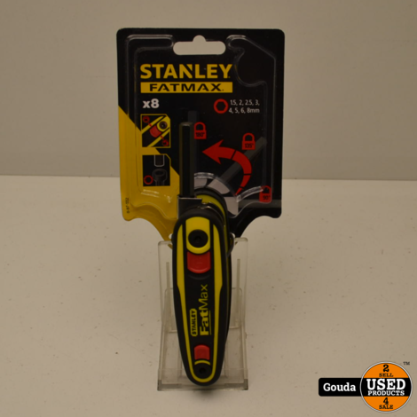 Stanley Fatmax 0-97-552 8-delige Inbussleutelset - uitklapbaar model - 1,5-8mm NIEUW