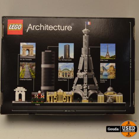 Lego Architecture Paris 21044 NIEUW in doos