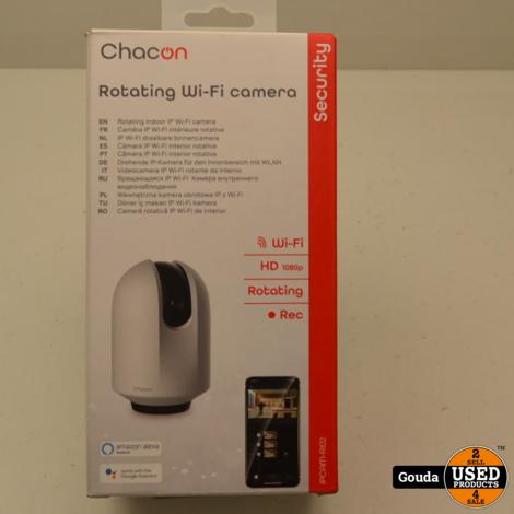 Chacon IPcam RI02 Rotating Wifi Camera Nieuw in doos