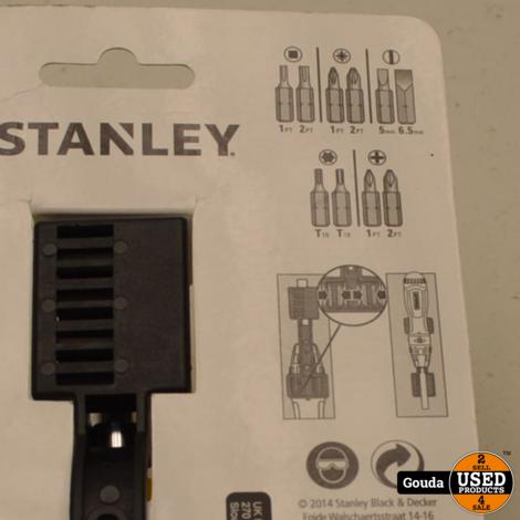 Stanley 0-68-010 Multibit Schroevendraaier met Ratel -NIEUW