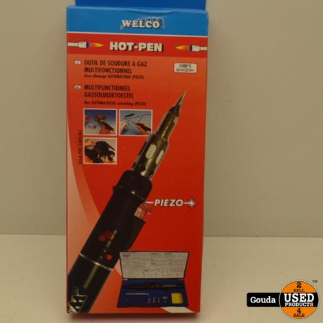 Welco Hot-Pen Multifunctioneel Gassoldeertoestel Nieuw in doos